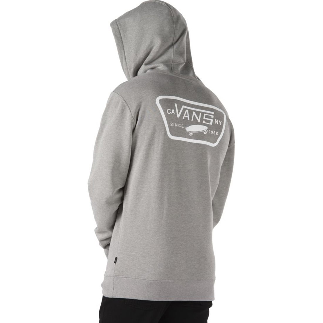 SWEAT VANS FULL PATCH cement heather