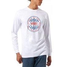 T-SHIRT VANS OG CHECKER LS white