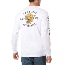 T-SHIRT VANS GROWLER LS white