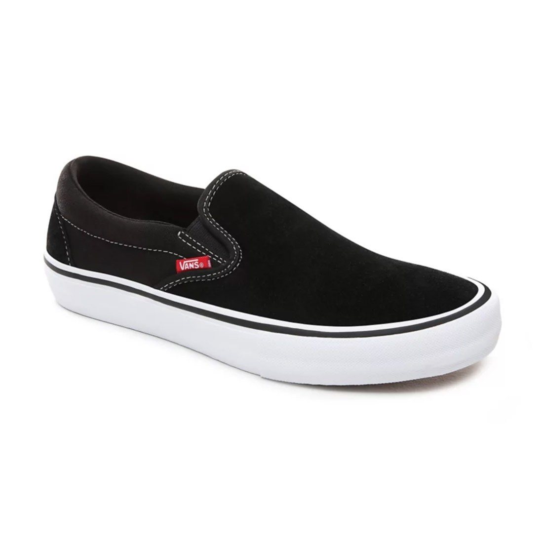 SLIP ON PRO black white gum