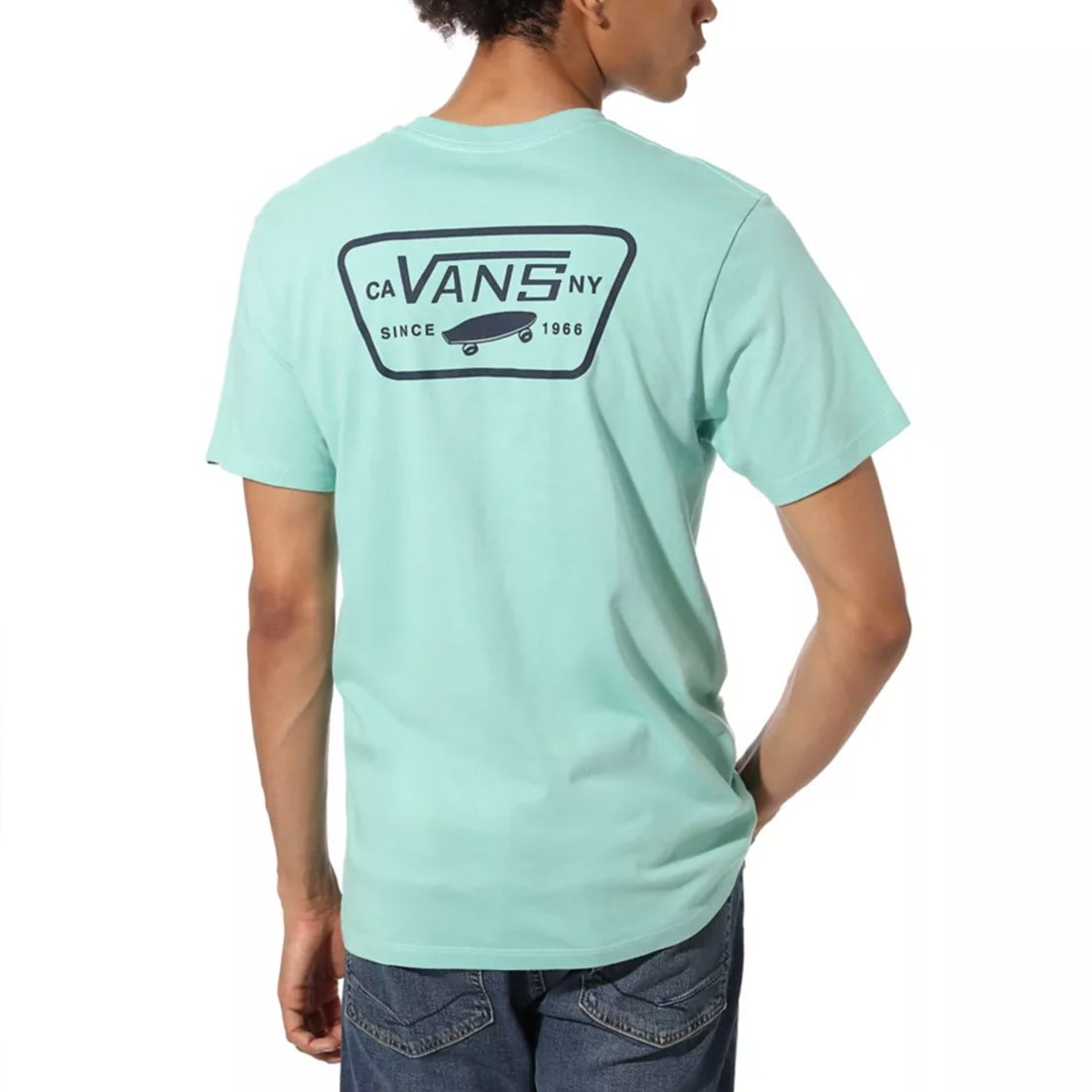 T-SHIRT VANS FULL PATCH DUSTY JADE