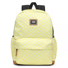 SAC A DOS VANS REALM PLUS LEMON TONIC CHECKERBOARD