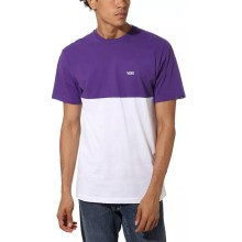 T SHIRT VANS COLORBLOCK PURPLE