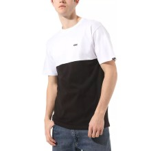 T-SHIRT VANS COLORBLOCK black white