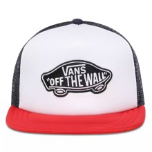 CASQUETTE VANS CLASSIC TRUCKER red white