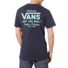 T SHIRT VANS HOLDER STREET II black dusty jade