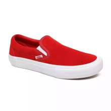 SLIP ON PRO red white