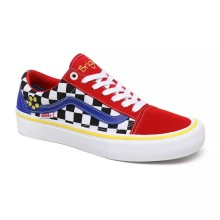 OLD SCHOOL PRO Red/Checker/Blue