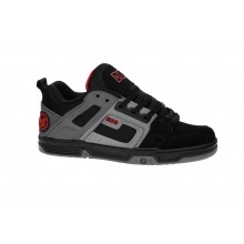 COMANCHE BLACK CHARCOAL RED NUBUCK DEEGAN