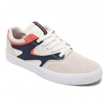 KALIS VULC white navy red