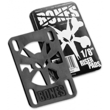 RISER PADS BONES hard black 0.125