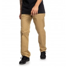 PANTALON DC SHOES WORKER CHINO RELAXED khaki