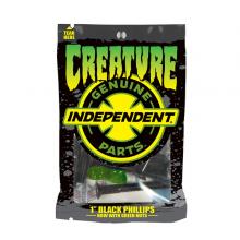VIS CREATURE 1 pouce black green