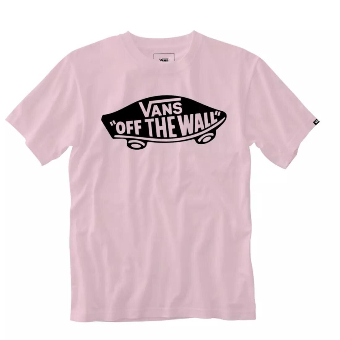 T SHIRT VANS cool pink
