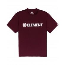 T SHIRT ELEMENT BLAZIN vintage red