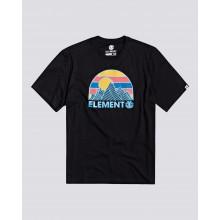 T SHIRT ELEMENT KOSY flint black