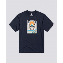 T SHIRT ELEMENT LOGEL eclipse navy