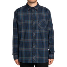 CHEMISES ELEMENT LUMBER flannel navy green