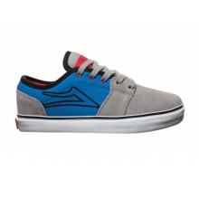 lakai grey blue suede