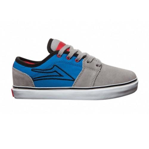 lakai grey blue suede