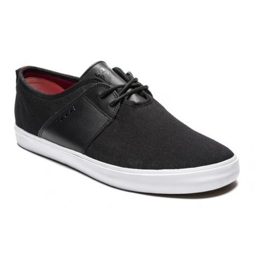lakai albany black canvas
