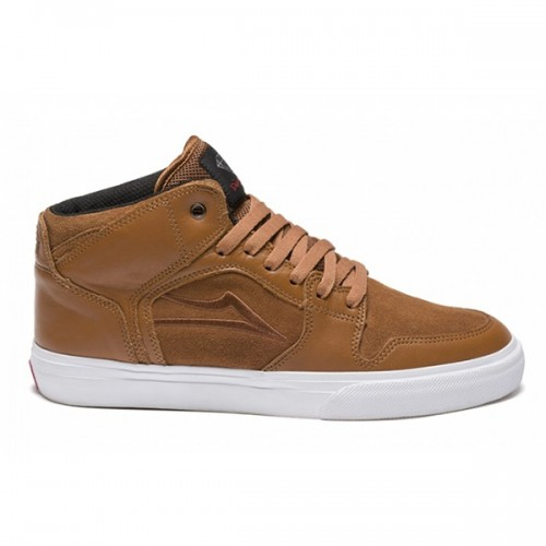 lakai telford echelon caramel leather