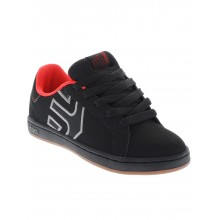 KIDS FADER LS black red gum
