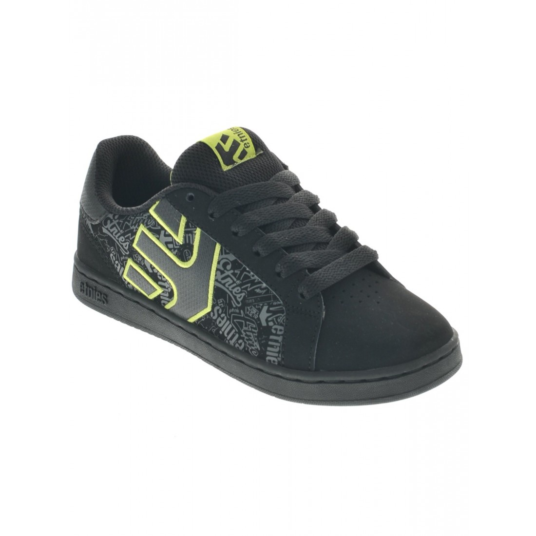 KIDS FADER LS black lime
