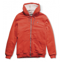 SWEAT ENFANT ETNIES CLASSIC SHERPA ZIP FLEECE ORANGE