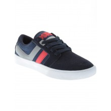 Lumin navy grey red