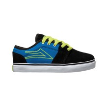 lakai kids judo black blue suede
