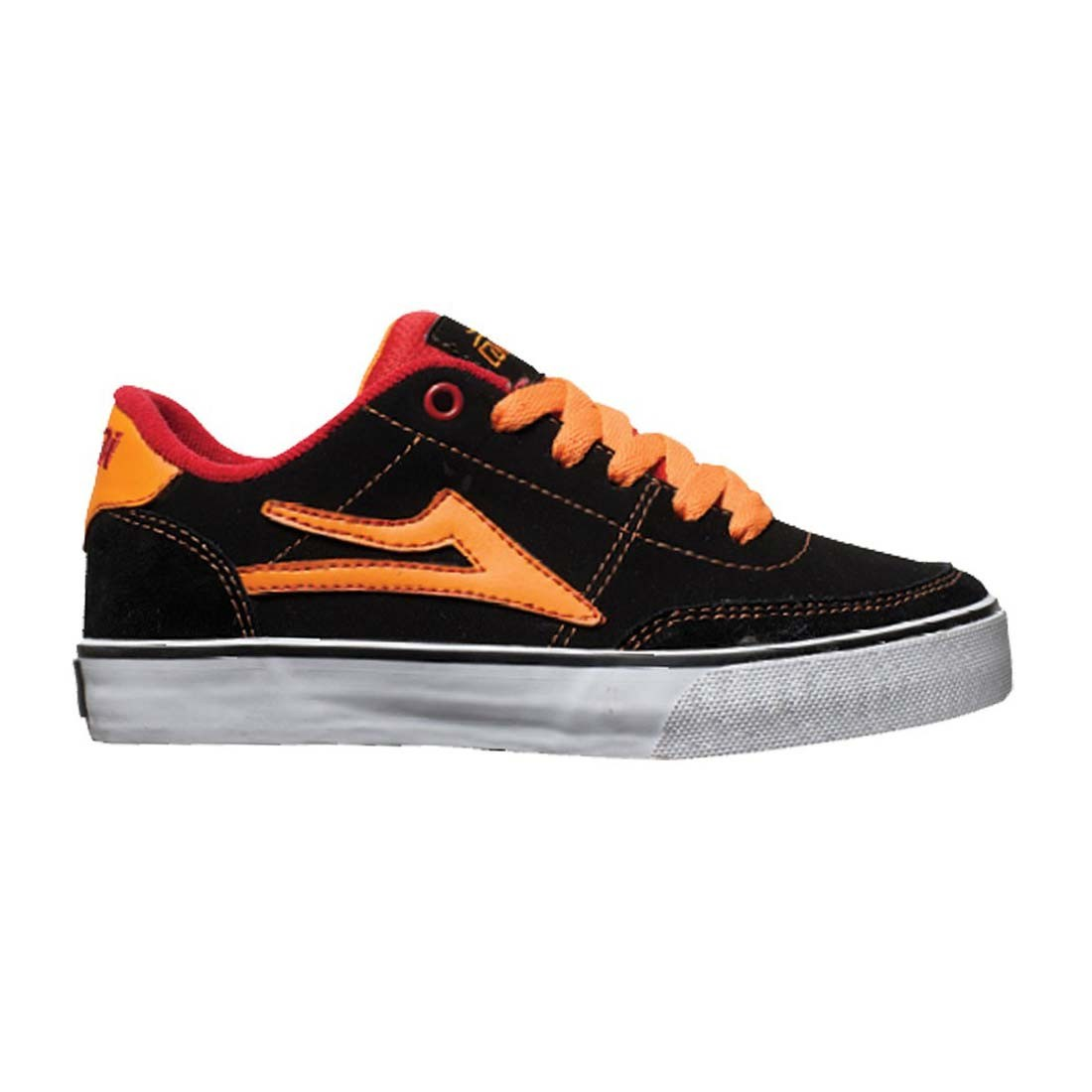lakai kids encino black orange nubuck
