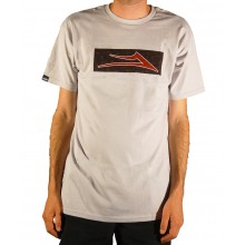 Paisley standard tee silver