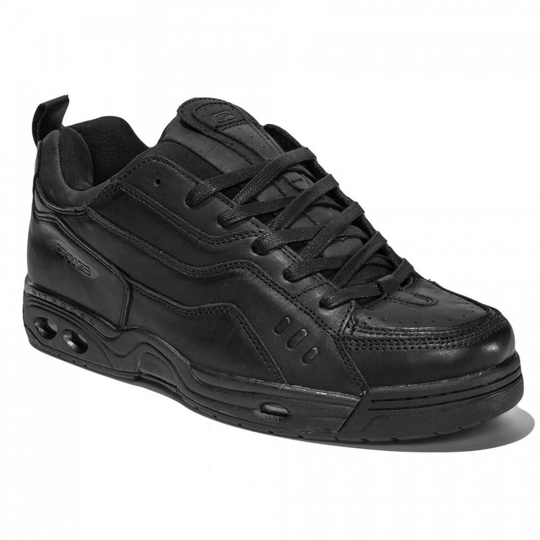 CHET THOMAS IV DLX black leather