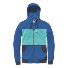 SWEAT GLOBE JOURNEY HOODIE maroccan blue