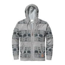 PULL ZIPP GLOBE Wales Sweater grey marie