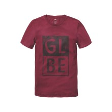 T-SHIRT GLOBE Stack wine