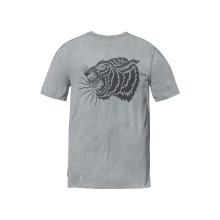 T-SHIRT GLOBE Tiger slate grey