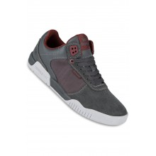 ELLINGTON charcoal burgundy light grey