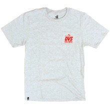 T-SHIRT DVS STAMP POCKET grey heather