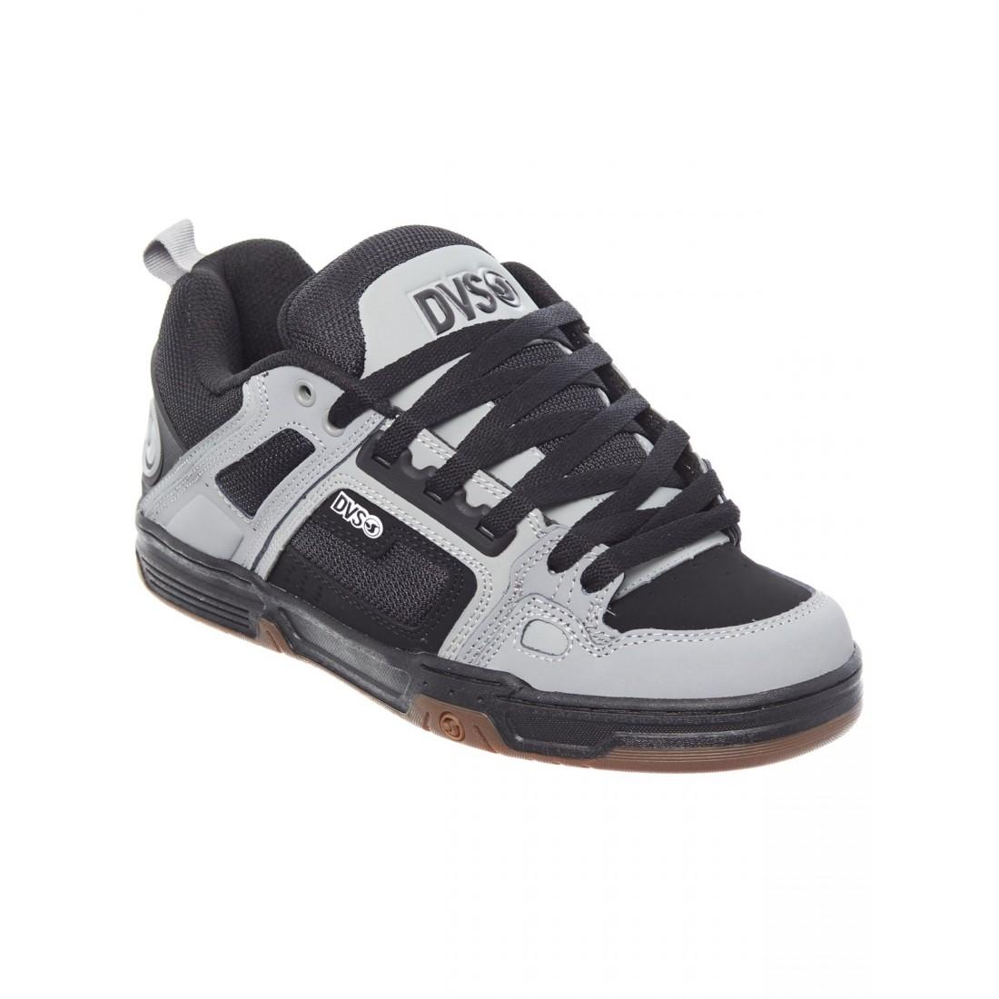 COMANCHE black grey leather