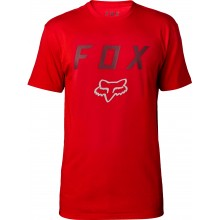 T-SHIRT FOX CONTENDED SS TECH drk red