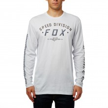 T-SHIRT FOX GROUND FOG LS lht htr grey