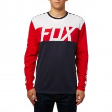 T-SHIRT FOX SCRAMBLUR LS AIRLINE mdnt
