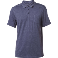 FOX LEGACY POLO SHIRT htr nvy
