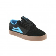 GRIFFIN kids black gum suede