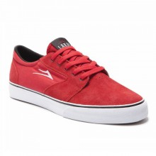 FURA red suede