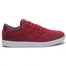 GUY MARIANO grey red suede
