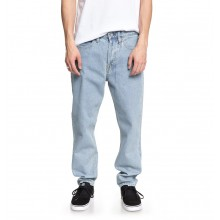 PANTALON DC WORKER STRAIGHT vintage bleach