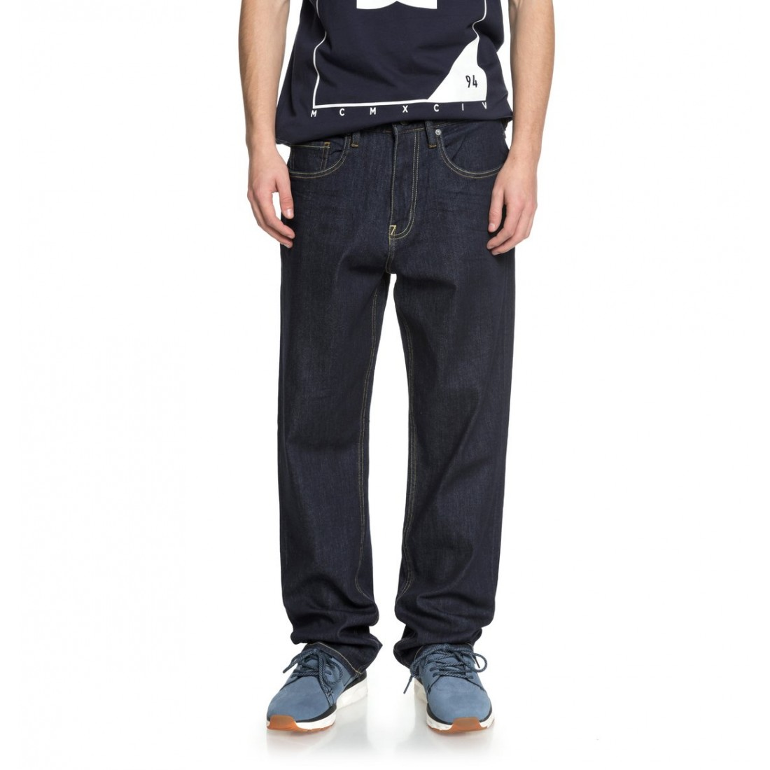 JEAN DC WORKER RELAXED indigo rinsed